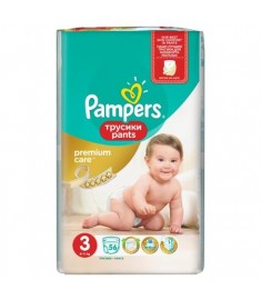 ПАМПЕРС ГАЩИ 3 PAMPERS PREMIUM CARE Х 56 бр