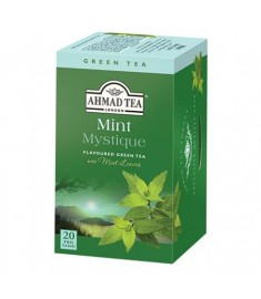 Ahmad Green tea Mint mystique / АХМАД ЗЕЛЕН ЧАЙ  И МЕНТА C ФИЛТЪР x 20