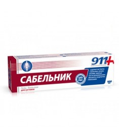 911 ХОНДРОИТИН И САБЕЛЬНИК ГЕЛ 85МЛ