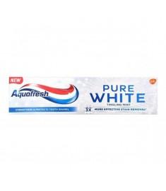 ПАСТА ЗА ЗЪБИ АКВАФРЕШ / AQUAFRESH PURE WHITE TINGLING MINT 75 мл