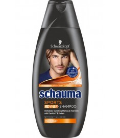 Schauma Sports Shampoo / ШАУМА ШАМПОАН МЕН СПОРТ