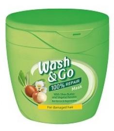 Wash & Go МАСКА ЗА КОСА С МАСЛО ОТ ШИЙ И РАСТИТЕЛЕН КЕРАТИН 300 мл