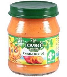 Ovko-Bebelan / Овко Бебелан ПЮРЕ СЛАДЪК КАРТОФ 4 месеца+ 100 г