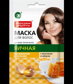 Fito cosmetic / ФИТО КОЗМЕТИК МАСКА ЗА КОСА  ЯЙЧЕНА 30 мл