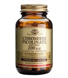 Solgar Chromium Picolinate / СОЛГАР ХРОМ ПИКОЛИНАТ 200  μg КАПСУЛИ Х 90