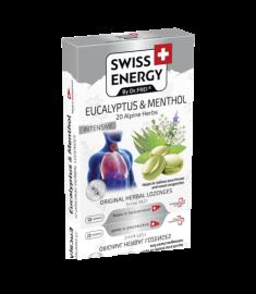 Swiss Energy / СУИС ЕНЕРДЖИ ТАБЛЕТКИ ЕВКАЛИПТ И МЕНТОЛ Х 12