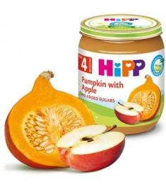HIPP / ХИП ПЮРЕ ТИКВА С ЯБЪЛКИ 4 месеца+ 125 г