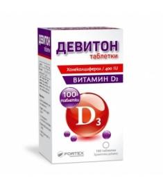 Deviton / ДЕВИТОН таблетки Х 100