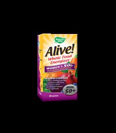 ALIVE / АЛАЙВ ВИТАМИНИ ЗА ЖЕНИ 50+ таблетки  Х 30