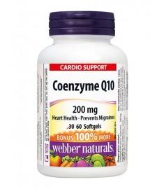 WEBBER NATURALS / КОЕНЗИМ Q10  КАПСУЛИ 200 мг Х 30