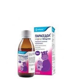 PARACEDOL KIDS / ПАРАСЕДОЛ сироп 120 мг/5 мл  120 мл