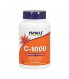 NOW FOODS ВИТАМИН C-1000 ТАБЛЕТКИ 1000 мг Х 100