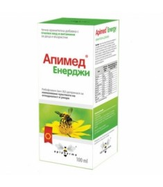 АПИМЕД ЕНЕРДЖИ сироп 100мл.