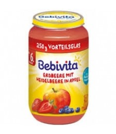 БЕЙБИВИТА ЯБЪЛКА, ЯГОДА И БОРОВИНКА 1005
