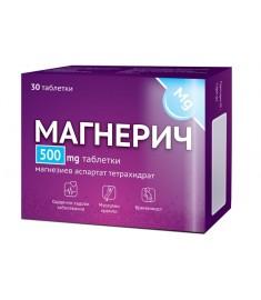 МАГНЕРИЧ ТАБЛ 500МГ Х 30 Д