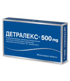 ДЕТРАЛЕКС ТАБЛЕТКИ 500 мг Х 30