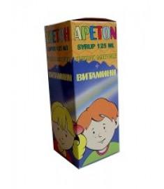 АПЕТОН сироп 125мл./пч.млечице+витамини/