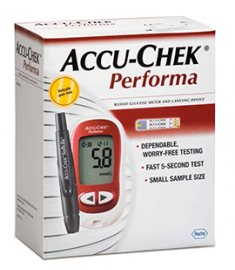 АКУ-ЧЕК PERFORMA BLOOD GLUCOSE SENSORS X 50 X 50