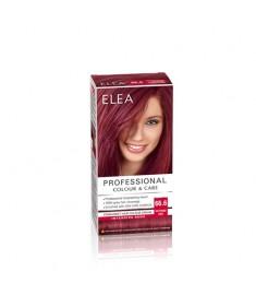 ELEA Professional Colour & Care / ЕЛЕА Боя за коса Наситено червен 66.6