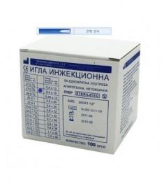 ИГЛИ N 0.4 (27G СИВИ) Х 100/КУТИЯ/